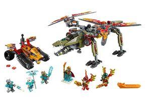 Lego Legends of Chima King Crominus Rescue 863Stück