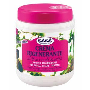 milmil Crema Rigenerante Burro di Karite - 1000ml Haarmaske