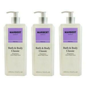 Marbert Bath & Body Classic Körperlotion 3 x 400 ml