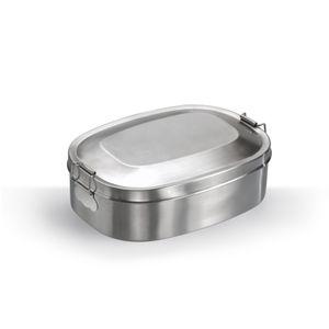 Mato lunchbox Break Edelstahl 16 cm Silber