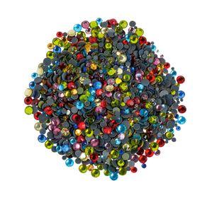 Strass-Steine, 1400 Stück Multi-Color