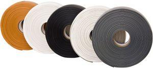 Weichsockelleiste, PVC, selbstklebend weiß 25m