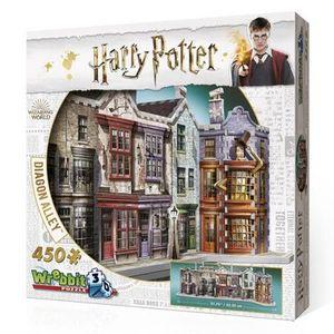 Wrebbit 3D W3D-1010 Harry Potter 3D Puzzle, bunt