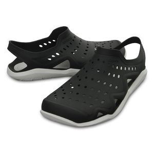 Crocs Herren Sport Freizeit Sandale Men's Swiftwater Wave schwarz, Größe:41-42