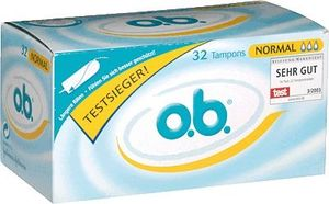 O.B. Tampons normal 191000 wei? 32 St./Pack.