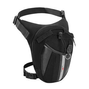 Multifunktionale reflektierende Drop Leg Bag Tasche Motorrad Fahrrad Radfahren Outdoor Casual Waist Pack Oberschenkeltasche