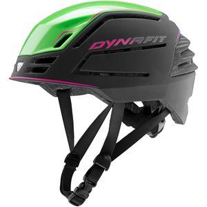 Dynafit DNA Skihelm Damen und Herren Skitourenhelm, Farbe:black/green, Größe:Gr. L