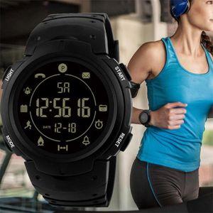 Wasserdicht Bluetooth Digitale Stoppuhr Datum Gummi Sport Armbanduhr uhr männer relogio kol saati sport uhren