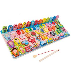 Holzpuzzles für Kleinkinder, Alphabet-Puzzles, Lernpuzzlespielzeug für Kinder, 3-in-1-Puzzles für Kleinkinder