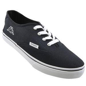 Kappa Herren Sneaker Schwarz/Weiß, Schuhgröße:EUR 44