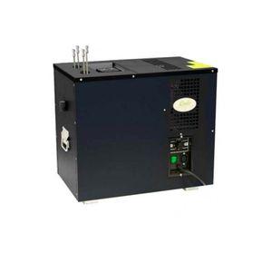 Zapfanlage, AS-80, 2-leitig, Durchlaufkühler, Nasskühler - Untertheke, Green Line