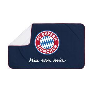 FCB Sporthandtuch Sport Fitness Badetuch Handtuch FC Bayern München 80x130