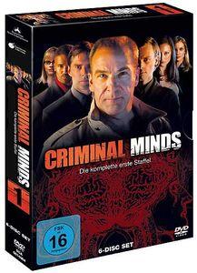 Criminal Minds - Staffel #1 (DVD) 6DVDs Min: 911DDWS