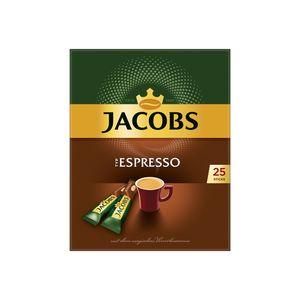 Jacobs Typ Espresso Sticks | löslicher Kaffee | 25 Portionen
