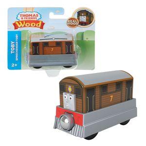 Toby   Mattel GPR19   Holzeisenbahn Lokomotive   Thomas & seine Freunde