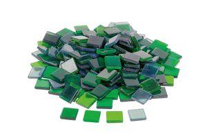 Acryl-Mosaik, ca. 205 Stück, 1x1cm Jade