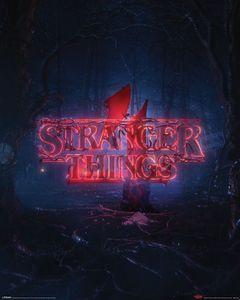 Staffel 4 Teaser Mini-Poster Stranger Things