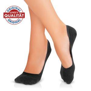 GoBunion Hallux Füßlinge mit integriertem Zehenspreizer, Größe 39-42, schwarz
