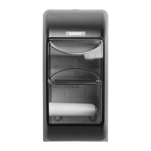 Toilettenpapierspender schwarz