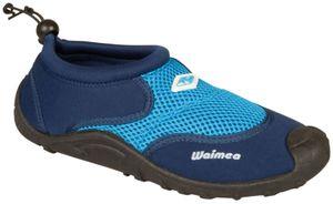 Waimea Aquaschuhe Wasserschuhe Badeschuhe Wave Rider Marine/Kobaltblau Schuhe, Größe:41