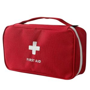Erste-Hilfe-Set Auto Notfalltasche Aufbewahrungstasche Safe New Cross 1 Pc Reisesport