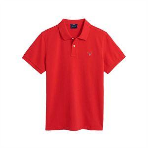 GANT Rugger Herren Pique Poloshirt, Farbe:rot, Größe:XXL