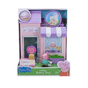 Jazwares 97005 - Peppa Pig - Kleine Bäckerei mit Figur, Spielset