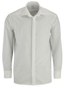 Olymp Comfort Fit Gala Hemd Langarm Uni Popeline Beige 0294/65/21, Größe: 39