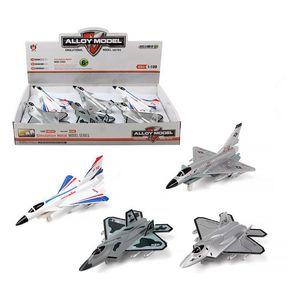 Flugzeug Weiß 115145 Kampfjet Düsenflugzeug Militär Licht-Sound-Effekte