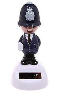 Solar Wackelfigur Polizist