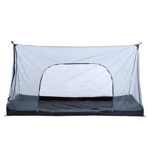 Outdoor Camping Zelt Ultraleichtes Netzzelt Insektenschutzmittel Net Tent Guard Faltbares Campingzelt fuer Outdoor-Aktivitaeten