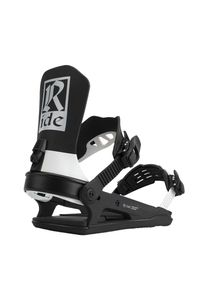 Ride C-8 Classic Snowboard Bindung Farbe: Black / White, Schuh Größe: M