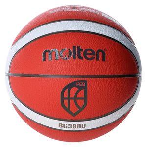 molten BG3800 indoor outdoor Basketball FIBA Synthetik Leder GMX BGMX, Ballgröße:5