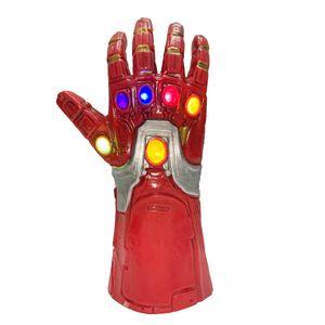 Kinder Iron Man Thanos Handschuhe Infinity Krieg Gauntlet LED Licht