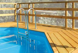 Sonnendeck Weka Pool 593 B Gr. 2