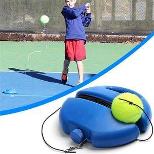 Tennis Trainer uebung Trainingsgeraet Tennis Trainingsgerät Tennistrainer Set Tennistrainingsausrüstung für Solotraining Erwachsener Kinder Anfänger