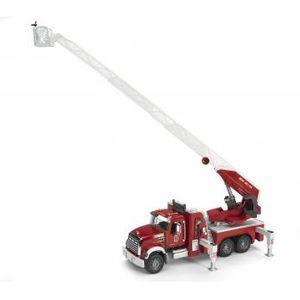 MACK Granite Feuerwehrleiterwagen+Pumpe