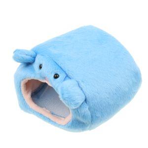 Hängematte Für Frettchen Ratte Hamster Eichhörnchen Hängebett Spielzeug Haus Blau