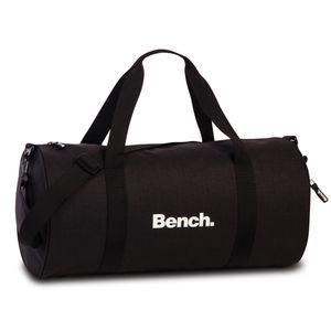 Bench Sporttasche Fitnesstasche Weekender Reisetasche 64152, Farbe:Schwarz