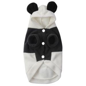 Panda Form Hoodie Kleidung Kostüm Hundejacke Hundebekleidung für Hunde Haustier