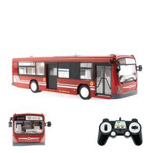 EFASO RC Bus E635-003 1:32 2,4GHz Stadtbus mit Licht, Sound, Hupe und beweglichen Türen in ROT