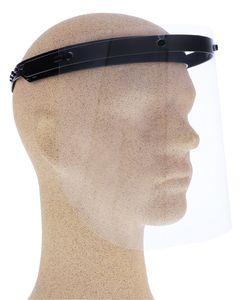 Visier Gesichtsschutz 180 Grad verstellbar - BLAU - Klappvisier aus robustem Kunststoff – Face Shield – Schutzschild Schutzvisier Augenschutz Gesichtsvisier Gesichtsschutzschild