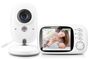 "Babyphone mit Kamera, Video Überwachung Baby Monitor Wireless 3.2"" TFT LCD Digital dual Audio"