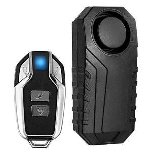 Wireless Motorrad Fahrrad Alarm Anti-Diebstahl Laut Wasserdicht mit Fernbedienung Drahtlose Motorrad Fahrrad Alarm