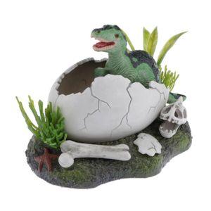 Dino im Ei Aquarium Dekoration Aqua Ornaments