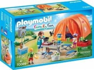 PLAYMOBIL Familien-Camping, 70089