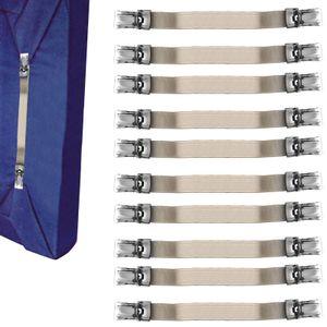 12 Stück Betttuchspanner Bettlakenspanner Bettbezug Spanner Clip Bügelbrett