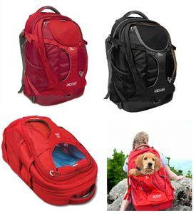 Kurgo G-Train K9 Rucksack rot oder schwarz, Farbe:rot
