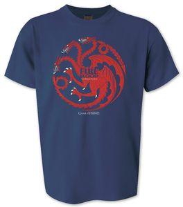 Game of Thrones T-Shirt Fire and Blood Targaryen Gr. S - T-Shirts