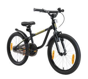 LÖWENRAD Kinder Fahrrad ab 6 Jahre | 20 Zoll Rad | Schwarz